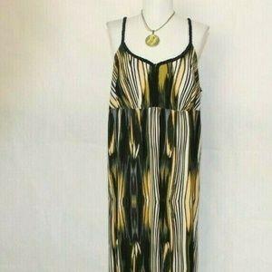 Saint Tropez West Halter Maxi Dress 16W B451